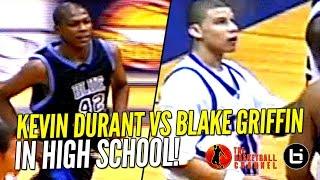 getlinkyoutube.com-Kevin Durant vs Blake Griffin IN HIGH SCHOOL Highlights! Ty Lawson & Sam Bradford Too!