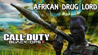 getlinkyoutube.com-African Drg Lord Plays Black Ops 2 - Episode 1