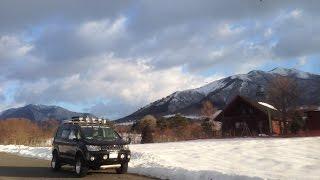getlinkyoutube.com-デリカD5カスタム 1人車中泊で雪の蒜山