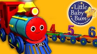 getlinkyoutube.com-Numbers Song for Children - 1 to 20 Number Train | By LittleBabyBum! | HD Version 3D Animation