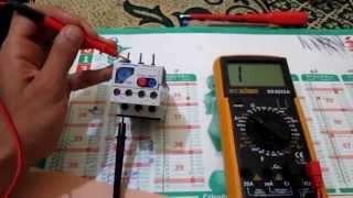 """getlinkyoutube.com-EP5 """" Les multimètres """" Part 21: Comment tester un relais thermique  بالدارجة"""