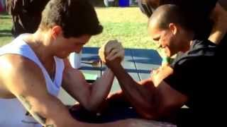 getlinkyoutube.com-Why Vegan Gains Lost at Arm Wrestling