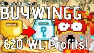 getlinkyoutube.com-Growtopia - Selling BUYWINGG (620 WLS PROFIT!)