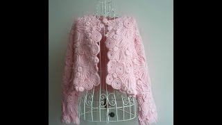 getlinkyoutube.com-VERY EASY crochet cardigan / sweater / jumper tutorial - baby and child sizes 22