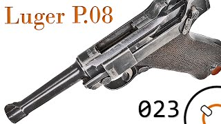 "getlinkyoutube.com-Small Arms of WWI Primer 023: German Pistole 08 ""Luger"""