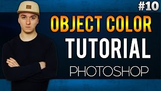 How To Change The Color Of An Object EASILY! - Adobe Photoshop CC - Tutorial #10