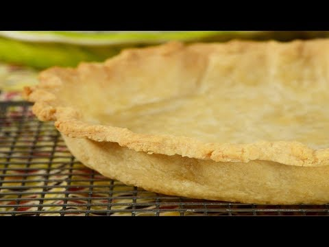 Prebaked Pie Crust Recipe Demonstration - Joyofbaking.com