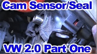 How to replace the Camshaft Position Sensor  on VW 2.0 L  Part One