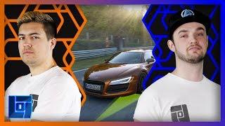 getlinkyoutube.com-Ali-A + MasterOv's Audi R8 Showdown - Project Cars   Legends of Gaming