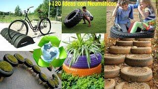 getlinkyoutube.com-Reciclar Neumáticos +120 Ideas / Recycling tires +120 Ideas