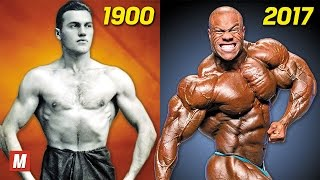 Evolution of Bodybuilding | From 1900 To 2017
