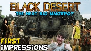 "getlinkyoutube.com-Black Desert Online First Impressions ""Is It Worth Playing?"""