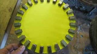 getlinkyoutube.com-3-5 phase 24 magnets 18-20 coil 100-125turns 18awg pma vawt wind energy green 40 .wmv