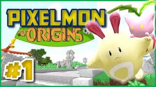getlinkyoutube.com-Pixelmon Origins SMP (Pixelmon 4.0.8 SMP) Episode 1 ► GOLDEN BUNNY!