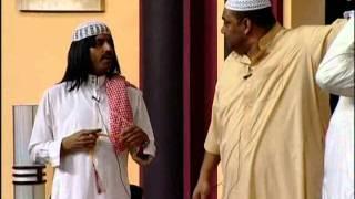 getlinkyoutube.com-إستهبال طآرق العلي على شهاب حاجية - مسرحية بخيت وبخيته