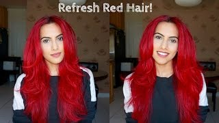 getlinkyoutube.com-How to refresh dull red hair!