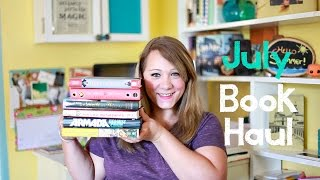 getlinkyoutube.com-JULY BOOK HAUL