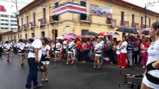 getlinkyoutube.com-Banda Vieja Metropoli, desfile 15 de setiembre 2014.