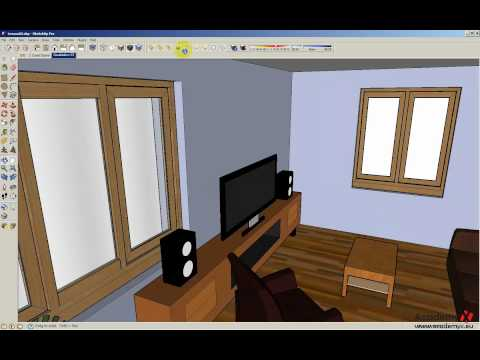 Google SketchUp 7.1 Lesson 03 part 01