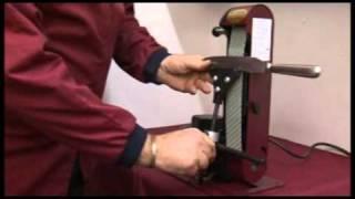 getlinkyoutube.com-Knife Sharpening Jig in use