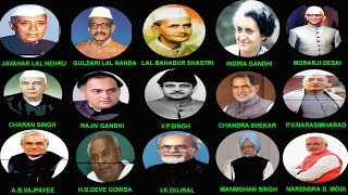 INDIAN PRIME MINISTERS DETAILS (1947-2014) || भारत के प्रधान मंत्री (1947-2014)