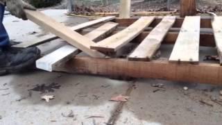 getlinkyoutube.com-Pallet Wood Removal Tool That Works