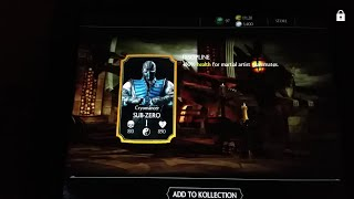 getlinkyoutube.com-Mortal Kombat X Gold Card in Silver Pack!!