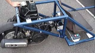 getlinkyoutube.com-DIY Go-Kart Reverse Trike