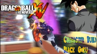 getlinkyoutube.com-Dragonball Xenoverse Character Build: Black Goku!