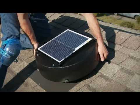 Solar Powered Attic Fan Installation - Part 7 - Adjustments