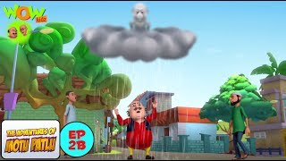 Angry Clouds   Motu Patlu In Hindi   3D Animation Cartoon   WITH ENGLISH, SPANISH & FRENCH SUBTITLES
