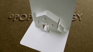 getlinkyoutube.com-Pop Up House Card #1 Tutorial - Origamic Architecture
