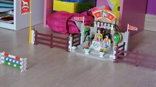 getlinkyoutube.com-Le championnat d'équitation playmobil