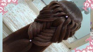 getlinkyoutube.com-peinados recogidos faciles para cabello largo bonitos y rapidos con trenzas para niña para fiestas56