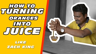 getlinkyoutube.com-Turning Oranges into Juice | Magic like Zach king Vines by Arun Sv