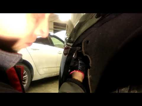 Cadillac Escalade 2015 года как снять передний бампер!