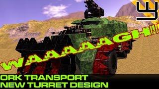 getlinkyoutube.com-Space Engineers - DA TRAKKTA, Mekboy Special (Wheeled Assault Vehicle?!)