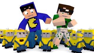 getlinkyoutube.com-Minecraft: OS MINIONS! (Série Desafios)