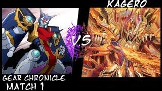 "getlinkyoutube.com-Team K4RD_F Gear Chronicle(Stride) VS Kagero(Dragonic Overlord The ""X"") Match 1"