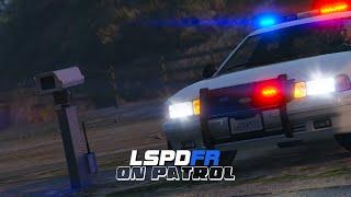 getlinkyoutube.com-LSPDFR - On Patrol - Day 6 - Speed Camera