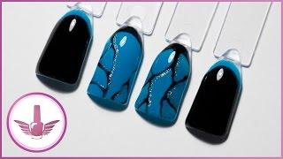 Дизайн ногтей: обратный френч - 2 способа. Маникюр текстура бирюзы. Выкраска гель-лаков NeoNail