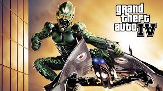 getlinkyoutube.com-El Duende Verde !! - SpiderMan VS Duende Verde - GTA IV MODS