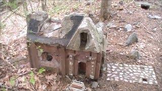 getlinkyoutube.com-Metal Detecting The Abandoned Little People's Village