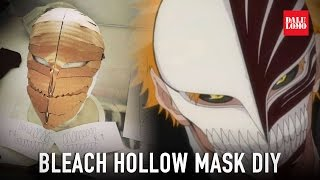 getlinkyoutube.com-#117.1: Hollow Mask Part 1 - Cardboard & Papermache | Bleach Ichigo | How to (product placement)