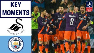 Swansea 2-3 Man City | Key Moments | Emirates FA Cup 18/19