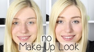 NO MAKE - UP Make-Up Look