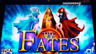 getlinkyoutube.com-*NEW SLOT*  THE FATES Slot - LIVE PLAY + BONUS - Slot Machine Bonus