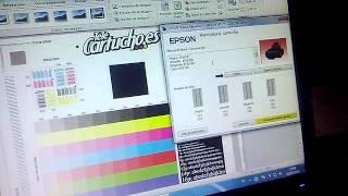 getlinkyoutube.com-Epson xp211 solucion error de tinta, gota encendida, no mas downgrade