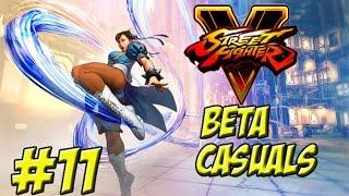 Street Fighter V! Beta Casuals Part 11 - YoVideogames