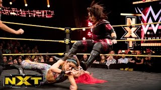 getlinkyoutube.com-Bayley & Asuka vs. Eva Marie & Nia Jax :  WWE NXT, March 16, 2016